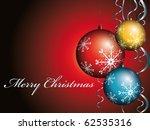 christmas background | Shutterstock .eps vector #62535316