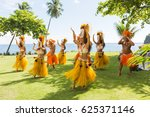 papeete  french polynesia  ... | Shutterstock . vector #625371146