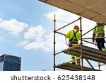 Construction Workers On A...