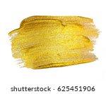 gold paint glittering textured... | Shutterstock . vector #625451906