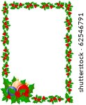 christmas background | Shutterstock . vector #62546791