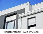 front of a new modern building... | Shutterstock . vector #625492928