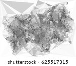 abstract monochrome mosaic... | Shutterstock .eps vector #625517315