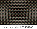 abstract ornaments on a black... | Shutterstock . vector #625530968