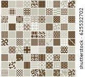 graphic ornamental tiles... | Shutterstock . vector #625532702