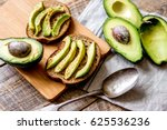 making sandwiches with avocado...   Shutterstock . vector #625536236