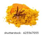 portion of turmeric  close up... | Shutterstock . vector #625567055