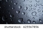 rain drops on metall surface.... | Shutterstock . vector #625567856
