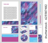 corporate identity set | Shutterstock .eps vector #625587482