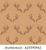 seamless pattern with hand... | Shutterstock .eps vector #625590962
