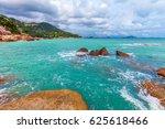 beautiful nature of koh samui...   Shutterstock . vector #625618466