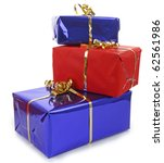 Isolated Pile Of Gift