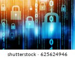 Cyber Security Concept Network...