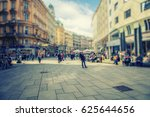 crowd of anonymous people... | Shutterstock . vector #625644656