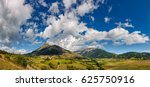 panoramic summer view on the... | Shutterstock . vector #625750916