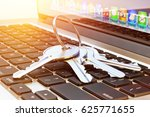 computer data protection and... | Shutterstock . vector #625771655