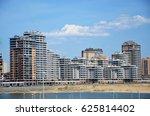 modern multi storey building in ... | Shutterstock . vector #625814402
