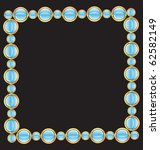frame with glossy buttons | Shutterstock .eps vector #62582149