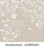 wedding pastel card | Shutterstock .eps vector #62584363