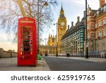 london  england   the iconic... | Shutterstock . vector #625919765