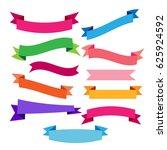 banner icons set  | Shutterstock .eps vector #625924592