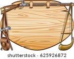 antique flintlock gun on wooden