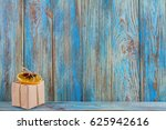 small gift decorated with a... | Shutterstock . vector #625942616