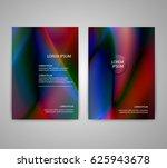 brochure flyer layouts with... | Shutterstock .eps vector #625943678