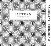 seamless fashion pattern with... | Shutterstock .eps vector #625955492