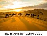 camels sunset | Shutterstock . vector #625963286