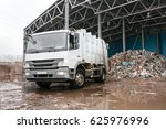 waste processing plant.... | Shutterstock . vector #625976996