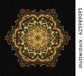 bohemian decorative element ...   Shutterstock .eps vector #625989095