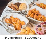 russian pirozhki  various... | Shutterstock . vector #626008142