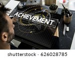 time unlimited infinity ability ... | Shutterstock . vector #626028785