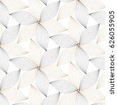 flower pattern vector  black... | Shutterstock .eps vector #626055905