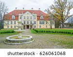 old castle  2014  latvia. now... | Shutterstock . vector #626061068