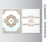 invitation background flyer... | Shutterstock .eps vector #626069672