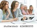team of businessmen working... | Shutterstock . vector #626080355