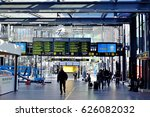 malmo central railway station ... | Shutterstock . vector #626082032