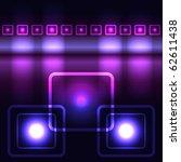 glowing violet vector... | Shutterstock . vector #62611438