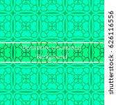 luxury colored ornamental... | Shutterstock .eps vector #626116556