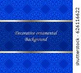 luxury colored ornamental... | Shutterstock .eps vector #626116622