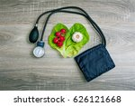 vegetables and high blood...   Shutterstock . vector #626121668