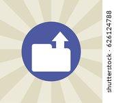upload icon. sign design....