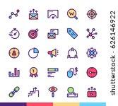 marketing minimalist and modern ... | Shutterstock .eps vector #626146922