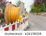 fiber optic cable for fast... | Shutterstock . vector #626158328
