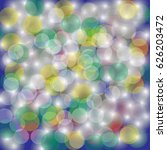 defocused lights background  ... | Shutterstock .eps vector #626203472