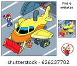 find six extra details on the... | Shutterstock .eps vector #626237702