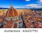 florence duomo. basilica di... | Shutterstock . vector #626237792