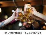 craft beer booze brew alcohol... | Shutterstock . vector #626246495